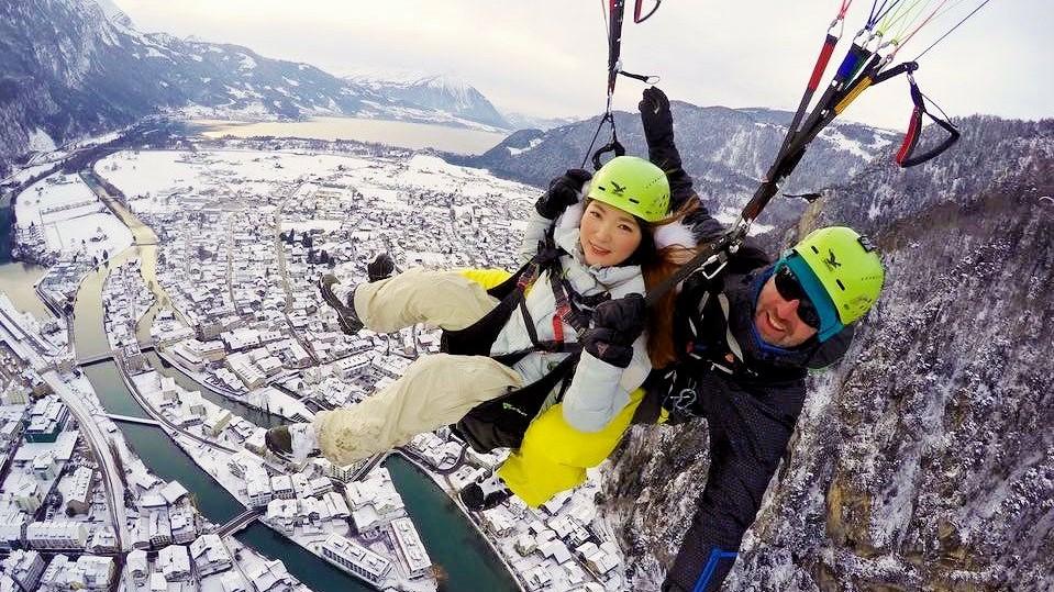 Interlaken Winter Paragliding Wonderland Winterlaken 13 - Copy