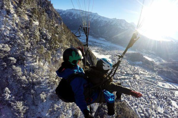 Interlaken Winter Paragliding Wonderland Winterlaken 2 - Copy